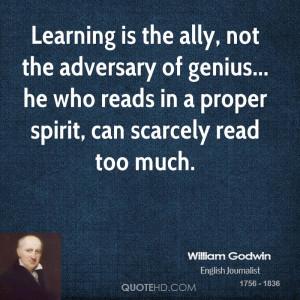 William Godwin Quotes