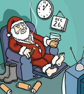 Boxing Day Joke - A Seat In the Stand?