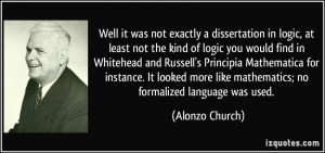 More Alonzo Church Quotes
