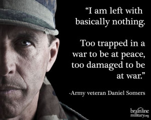 ... left behind by Daniel Somers, a veteran with severe #PTSD and #TBI
