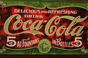 ... Coca-Cola quotes. I took this photo at Pike Place Market the quotes