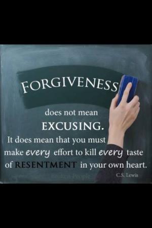 Forgiveness...C.S. Lewis