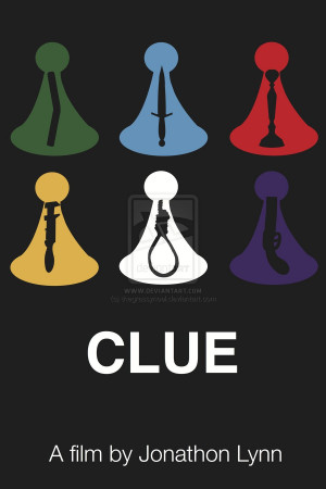 Clue Movie Poster by thegrassynoel