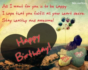 Cute Love Quotes For Your Boyfriend On His Birthday   mylovestory12345 ...