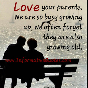 Parents Growing Old Quotes