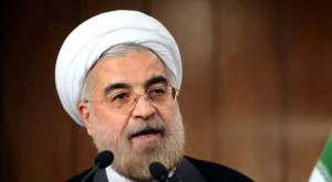 TEHRAN: Iran's President Hassan Rouhani said Wednesday that Israel was ...