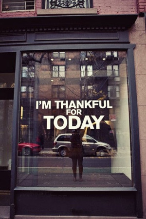 thankful for every day