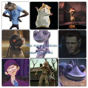 The many voices of Steve Buscemi by captainrex911