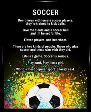 Soccer Confidence Quotes Quotesgram