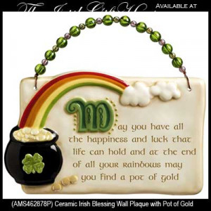 Related Pictures funny irish blessing plaque
