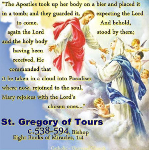 St. Gregory of Tours