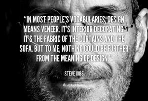 Veneer Quotes