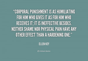 Quotes About Corporal Punishment