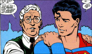 Superman's father says he prayed for his son, standing in front of ...