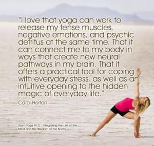 yoga positive quotes quotesgram