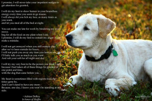 ... by me.... written in honor of my baby girl, Muffin. # quote/quotes