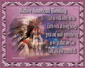 Native American blessings