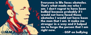 Georges St-Pierre on his bullying experience as a kid: