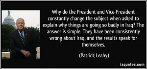 More Patrick Leahy Quotes