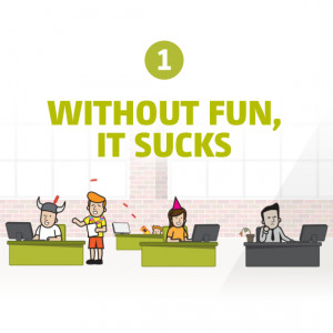 Having fun at work is incredibly important for employee engagement. We ...
