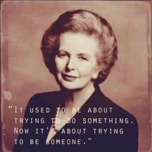 Margaret Thatcher, ahora comprendo !!! creo que era la revés