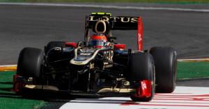 Romain Grosjean Spa 2012 F1: Romain Grosjean, sanctionné, ne ...
