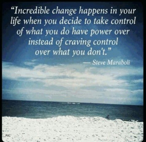 Change can be good!