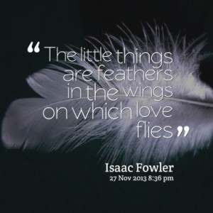 Quotes About Love and Feathers