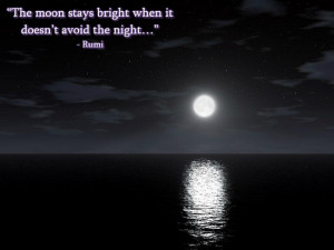 Rumi Wisdom: The Moon