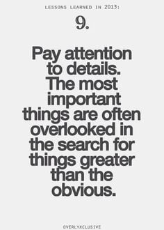 ... picture quotes 500 700 attention to detail quotes attention to details
