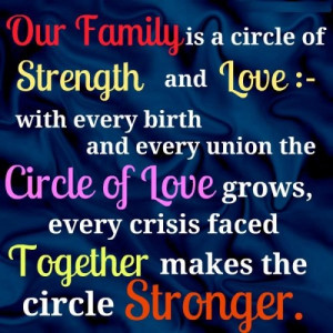 Family Blessing Family Quotes