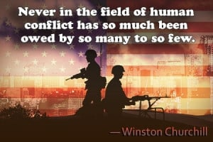History knows no greater display of courage than that shown by the ...