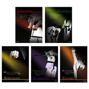 Martial Arts Karate Motivational Wall Posters