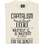 John Maynard Keynes Capitalism Quote T-Shirt. One of the world's most ...