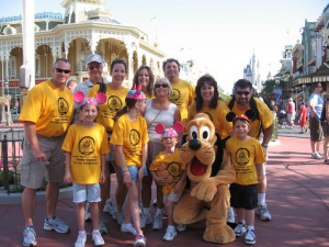 Picture of Disney World Family Vacation 2009 Custom T-Shirt Design