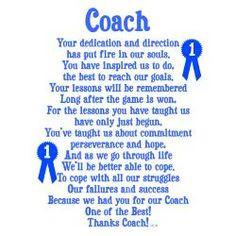 baseball coach thank you card - Google Search More