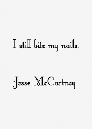 Jesse McCartney Quotes & Sayings