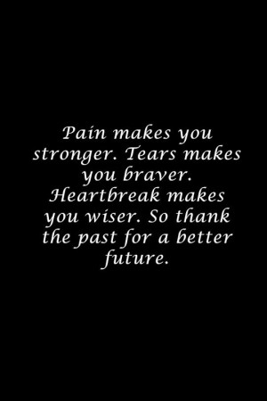 Thank your past for a better future