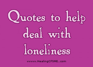 Bible quotes about loneliness