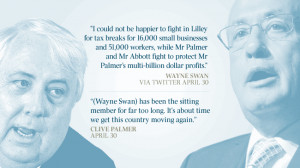 ... LNP preselection to take on Wayne Swan in the next federal election