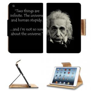 Albert Einstein Famous Universe Quote Apple Ipad Mini Flip Case Stand ...