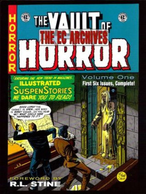 """Start by marking """"The EC Archives: The Vault of Horror, Vol. 1"""" as ..."""