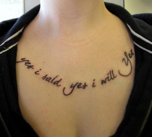 Tattoo Quotes Are New Age Fashion Trends