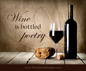 favorite wine quotes hand painted on an authentic wine barrel stave ...