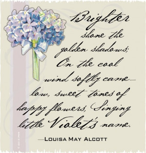 Violets by Louisa May Alcott