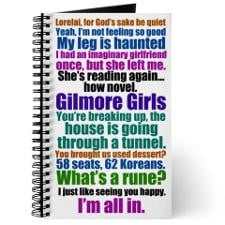 Gilmore Girls Quotes Journal for