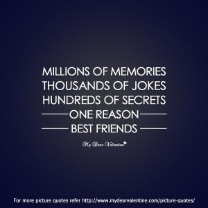 best-friend-quotes-Millions-of-memories