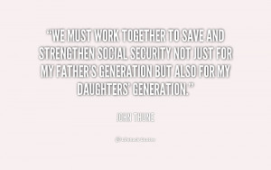 quote John Thune we must work together to save and 229115 png