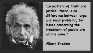 einstein justice quotes