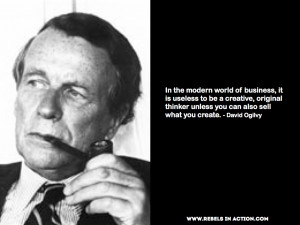David Ogilvy on Creation & Promotion